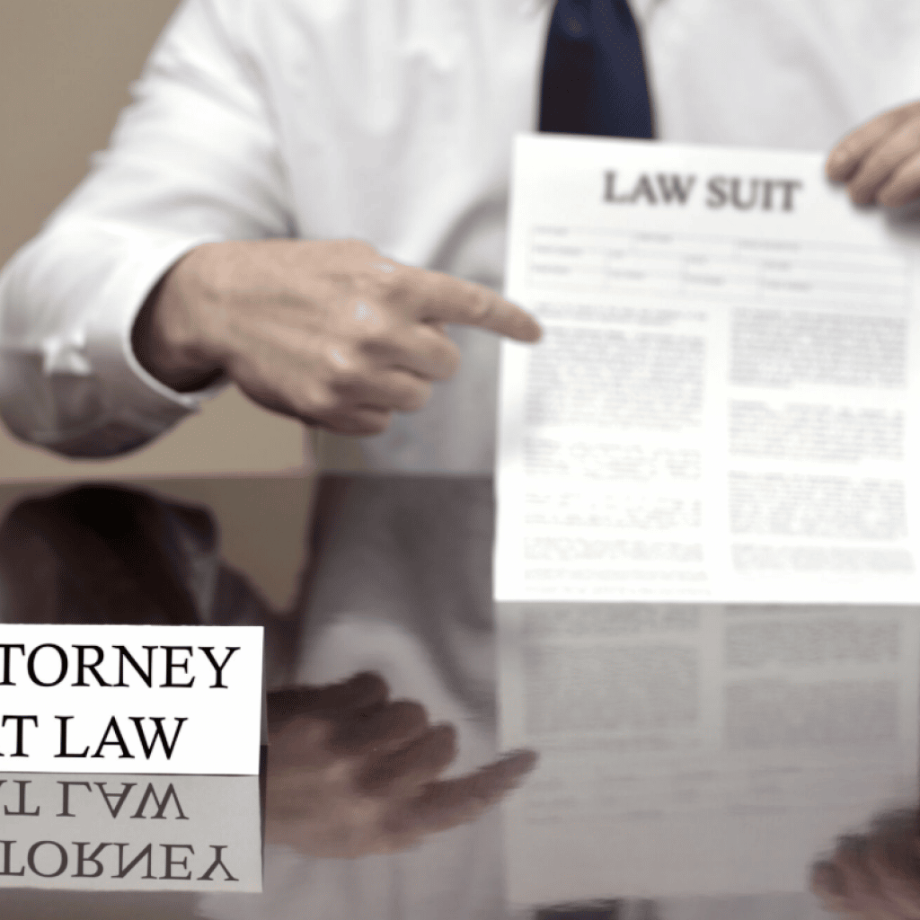 attorney and law suit