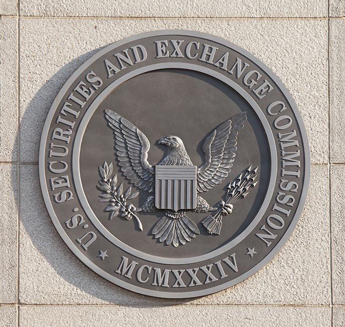 SEC Seal to accompany blog post about SEC cryptocurrency crackdown