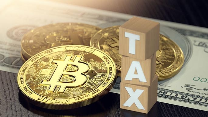 Picture to accompany a blog post about IRS Revenue Ruling 2019-24 regarding crypto taxes